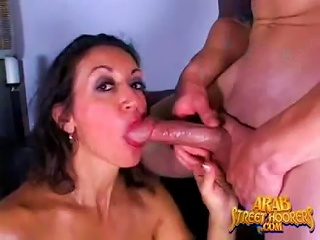 Arab Milf With An Amazing Body Rides A Large Cock
