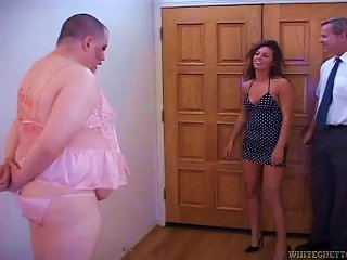 A Cuckolded Husband Forced To Watch His Wife Get Fucked